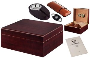 GERMANUS Humidor set cave à cigares avis test
